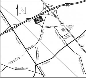 Levine Campus Map