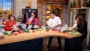 CPCC alums bake with Rachael Ray and The Cake Boss
