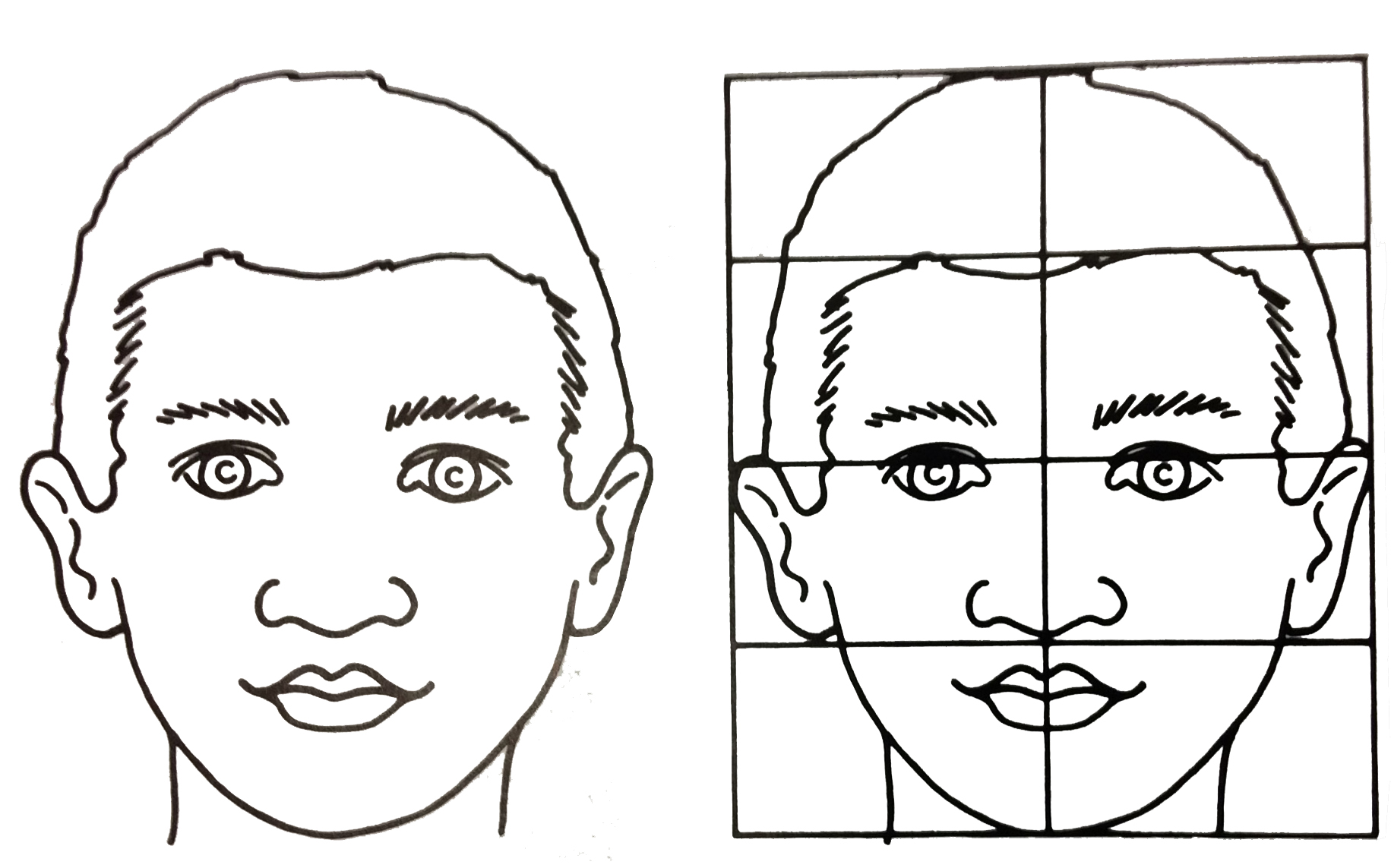 learn to draw faces videos