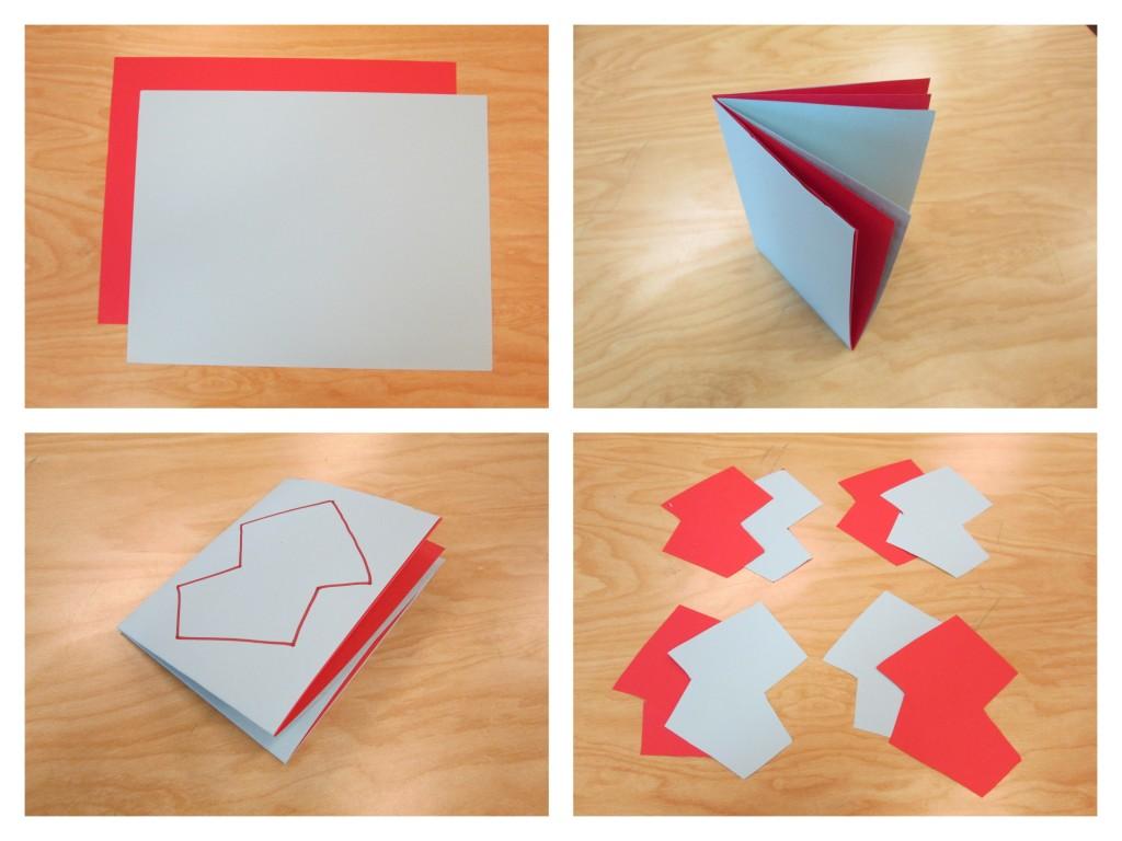 gilles sweet art collage cutting paper shapes. Black Bedroom Furniture Sets. Home Design Ideas