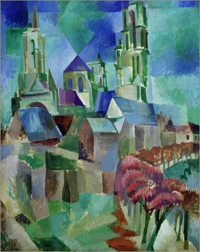 Delaunay simultaneous windows - Robert Delaunay Les Tours De Laon Die Tuerme Von Laon