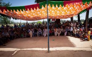 Welcome ceremony