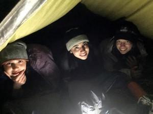 in the tarp
