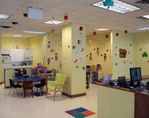 Brooklyn Child Advocacy Center Waiting Room