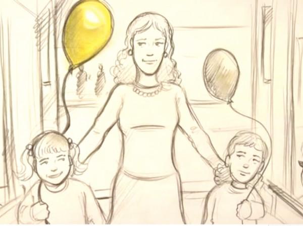 yellow balloon 3