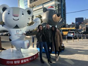 Soohorang and Bandabi in Busan !