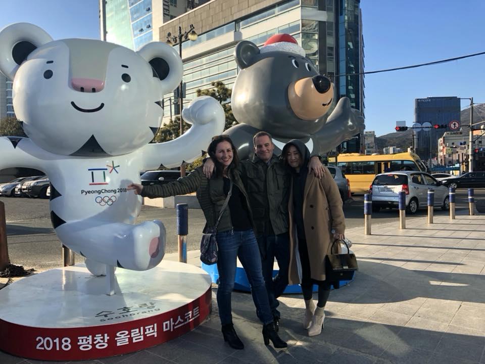 Soohorang and Bandabi in Busan !