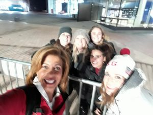 selfie with Hoda and Savannah from the Today Show