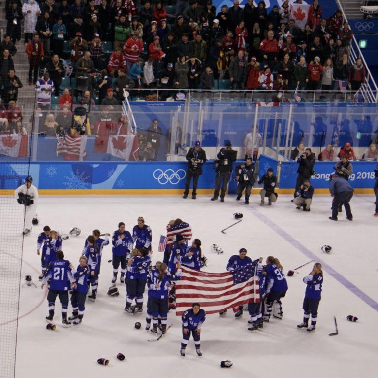 USA Women's Hockey Defeats Team Canada for Gold