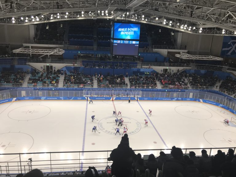 USA Women's Hockey vs The Olympic Athletes from Russia