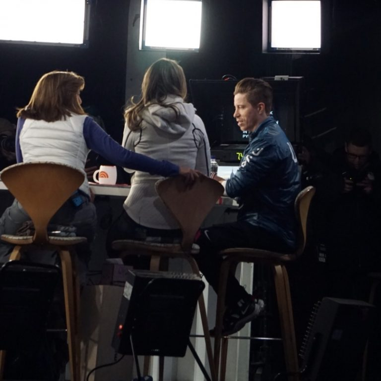 Shaun White Joins The Today Show after Winning USA's 100th Winter Olympics Gold Medal