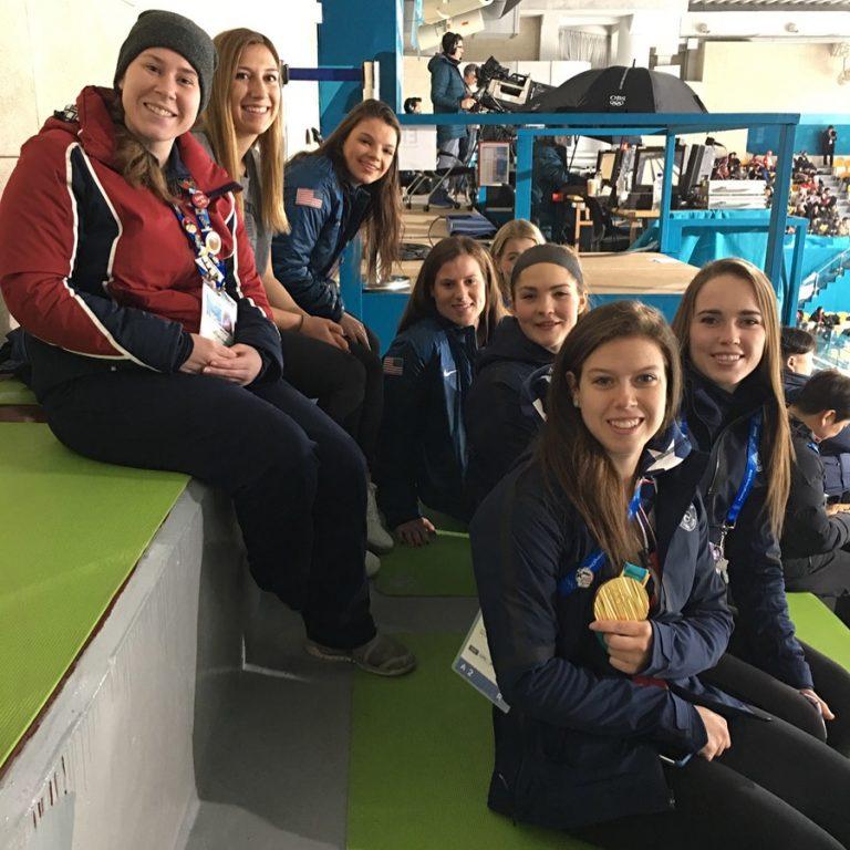 Meeting the Women's Ice Hockey Team