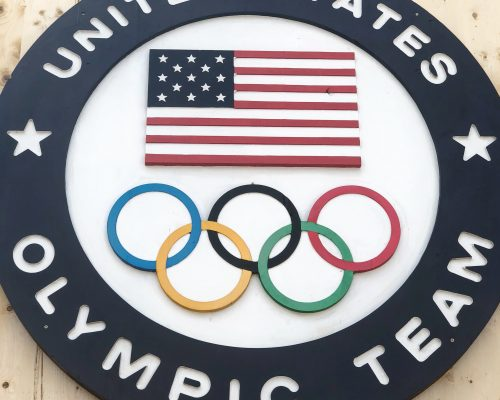 United States Olympic Team Sign