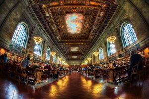 New York Public Library by Justin Brown