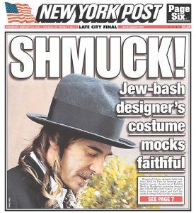 Feb. 13, 2013 New York Post cover