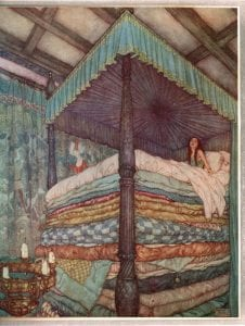Princess and the Pea by Edmund Dulac