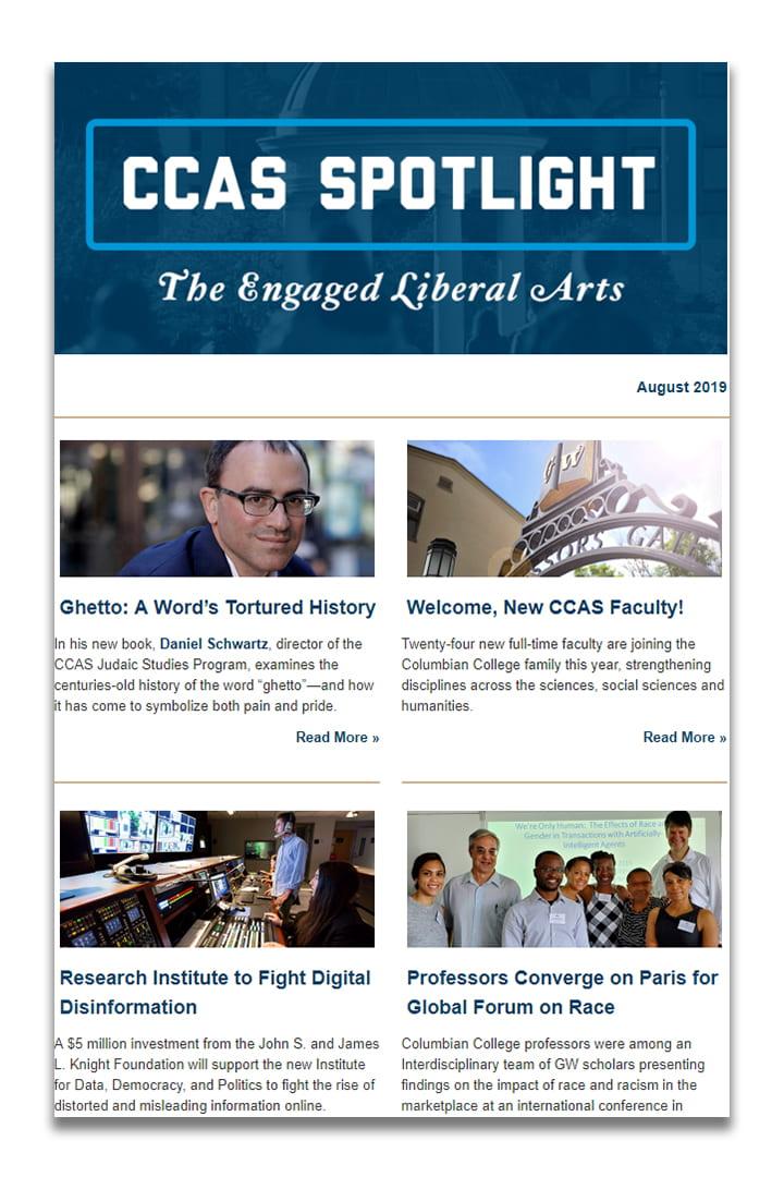 CCAS Spotlight Newsletter