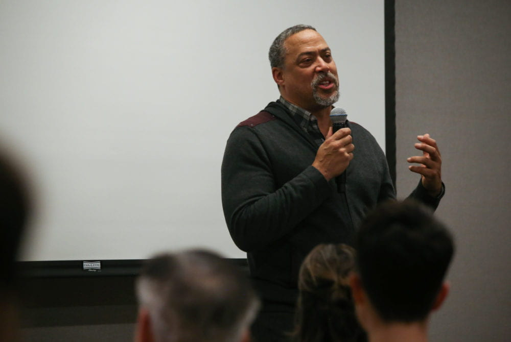 Former NFL Quarterback Challenges Toxic Masculinity at GEIA Film Screening