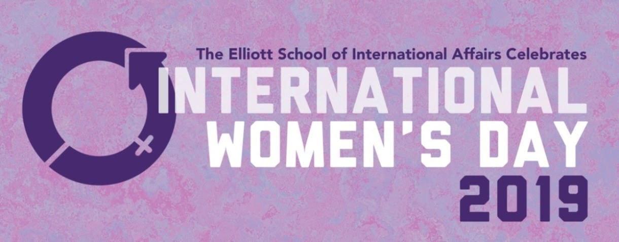 International Women's Day 2019 banner