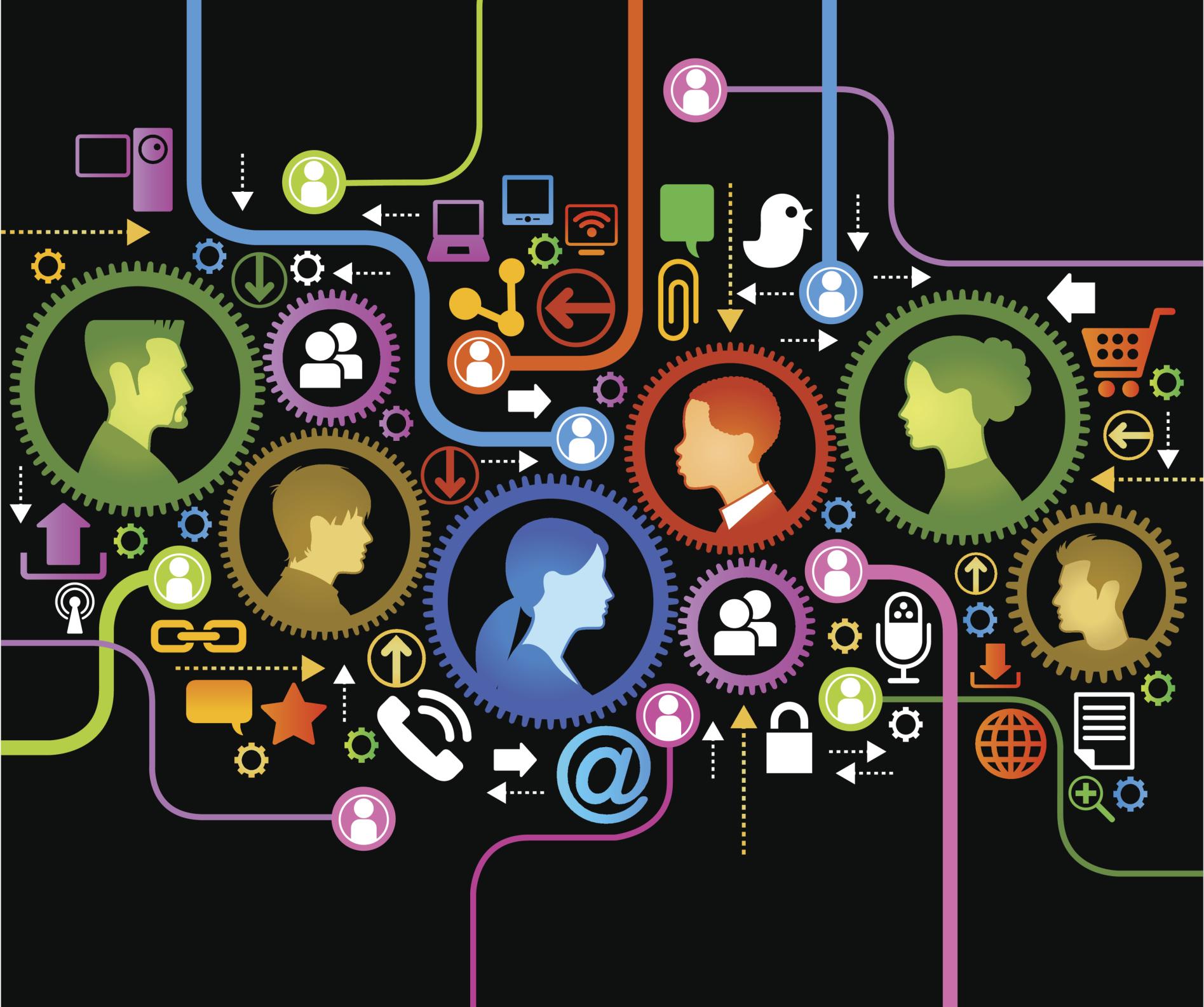 collaboration3-28b3ii5 Technology Platforms Examples on digital government, web application, social media, world wide web, internet marketing, web service, social media marketing, what's new, tim berners-lee, business model, cloud computing, adjustable cartoon, social network, small business, web design, common software,