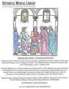 Historical Medical Library: Urinoscopic Consultation