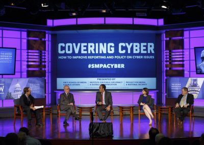 Covering Cyber event at GWU