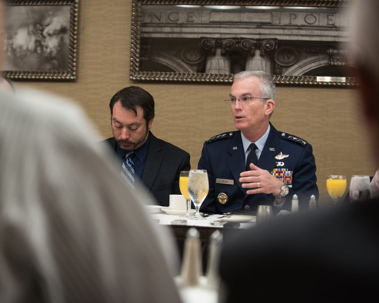 Joint Chiefs Vice Chairman Discusses Greatest Threats