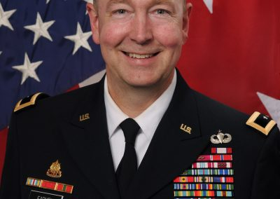 Major General Stephen Farmen | Oct. 12, 2-17
