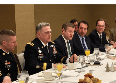 Ryan McCarthy | Gen. Mark Milley | Daniel Dailey | Nov. 15, 2017