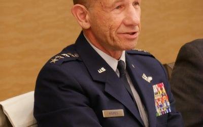 General James M. Holmes, Commander Air Combat Command
