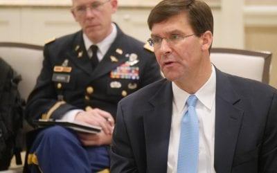 Dr. Mark T. Esper, Secretary of the U.S. Army