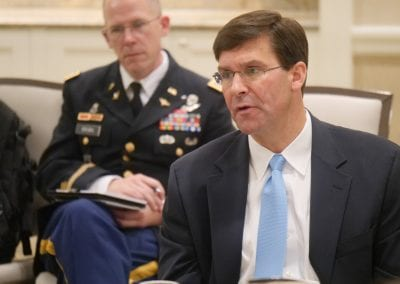 Dr. Mark T. Esper, Secretary of the U.S. Army