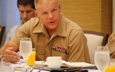 General Robert B. Neller, Commandant of the U.S. Marine Corps