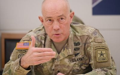 Lt. Gen. Charles D. Luckey Chief of Army Reserve and Commanding General, US Army Reserve Command