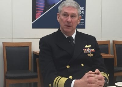 Vice Admiral Thomas Moore Commander, Naval Sea Systems Command (NAVSEA)