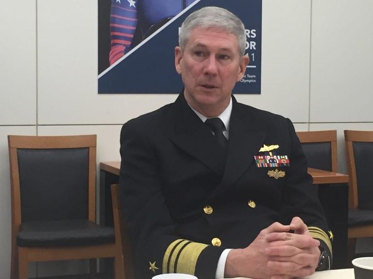 Vice Admiral Thomas Moore Commander, Naval Sea Systems Command (NAVSEA)