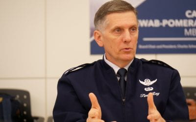 Gen. Timothy M. Ray, Commander – Air Force Global Strike Command and Commander – Air Forces, U.S. Strategic Command