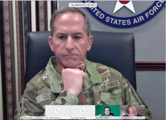 General David L. Goldfein, Chief of Staff of the U.S. Air Force