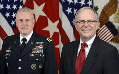 General John M. Murray, Commander – US Army Futures Command  &  Dr. Bruce D. Jette, Assistant Secretary of The Army (Acquisition, Logistics &Technology)