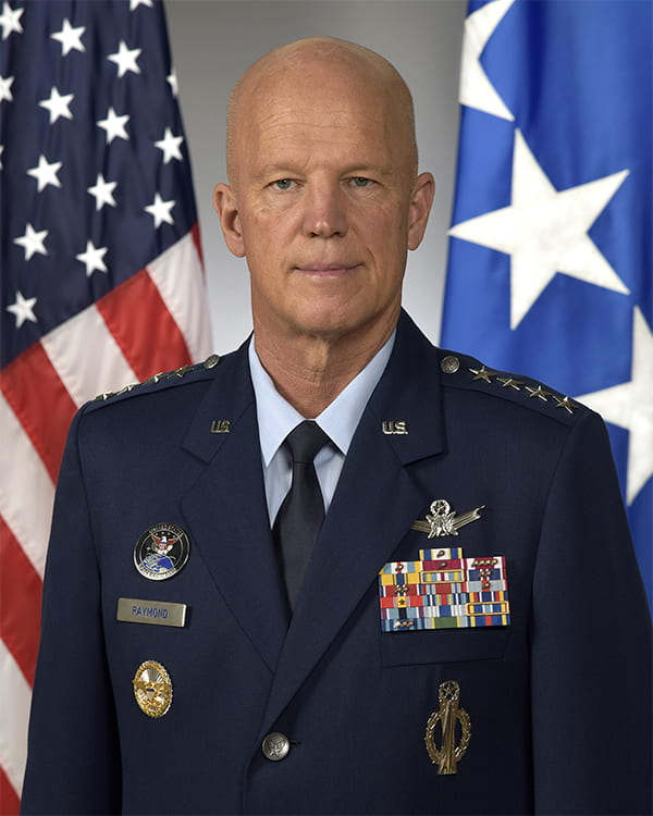 """General John W. """"Jay"""" Raymond Chief of Space Operations – United States Space Force"""