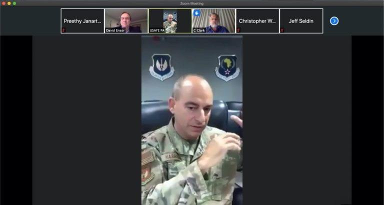 General Jeffrey L. Harrigian, Commander, US Air Forces in Europe, US Air Forces Africa; Commander – NATO Allied Air Command
