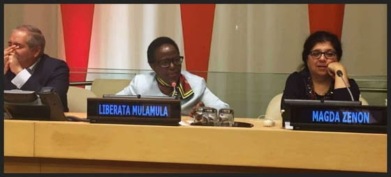 Ambassador Mulamula Speaks at UN Panel on Women, Peace & Security Agenda