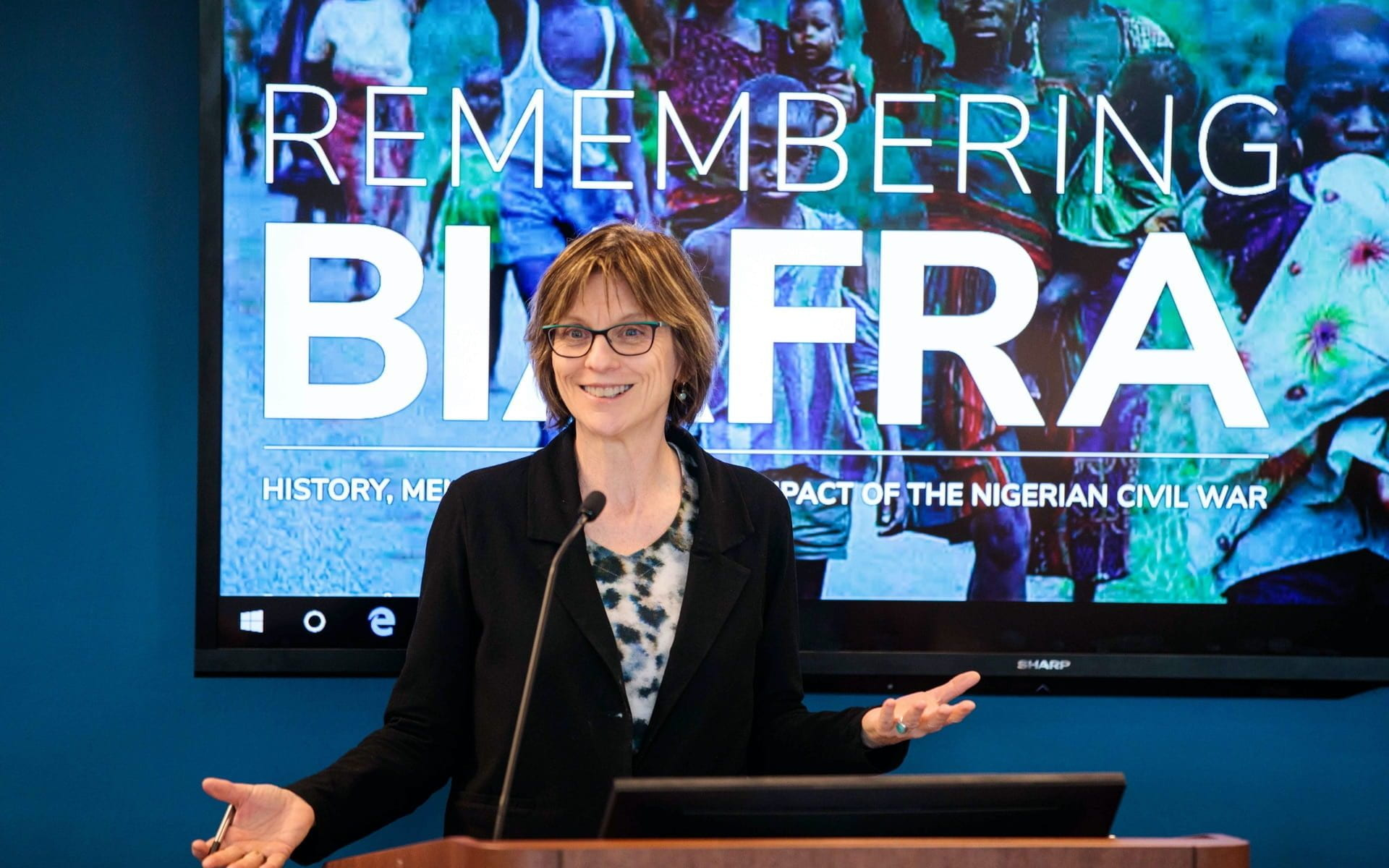 Melanie McAlister Remembering Biafra