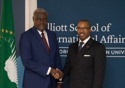 African Union Commission President Visit