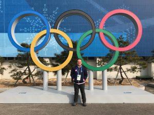 David Solomon at the Pyeong Chang Winter Olympic Games