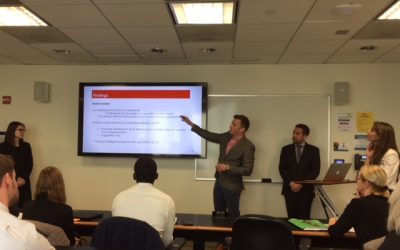 Elliott Students Plumb Global Issues: Presentations Showcase Research and Analysis