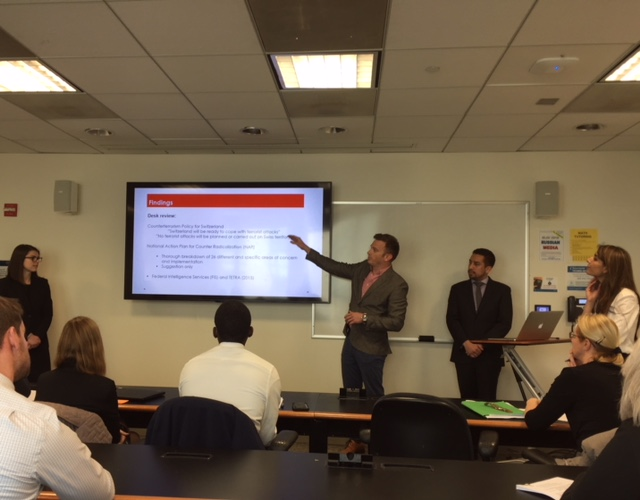 Global Capstone Project Presentations