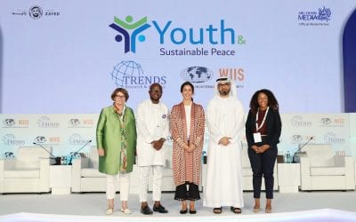 Elliott School Senior Speaks About Youth, Peacebuilding at UAE Conference