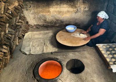 Making Lavash
