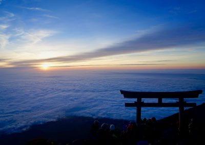 Summit of Mount Fuji